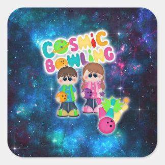 Cosmic Bowling Kid's Sticker