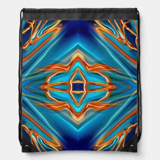 Cosmic Branches Super Nova Drawstring Bag