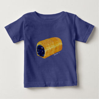 cosmic bread tee for baby (blue)
