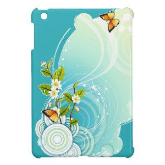 Cosmic Butterfly Floral Design iPad Folio Case iPad Mini Case