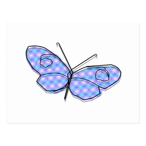 Cosmic Butterfly Post Card