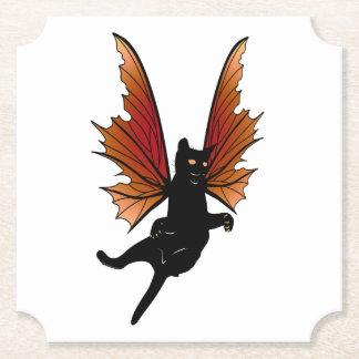 Cosmic Cat Acorn Paper Coaster