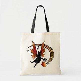 Cosmic Cat Acorn Tote Bag