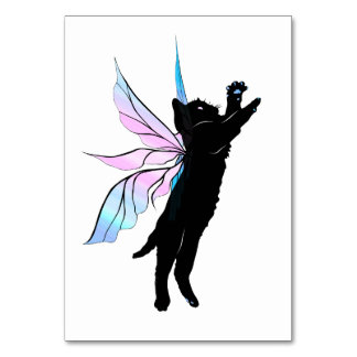 Cosmic Cat Dandelion Card