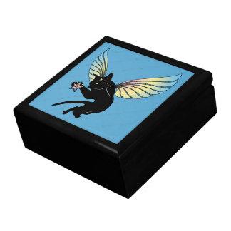 Cosmic Cat Moon and Stars Gift Box