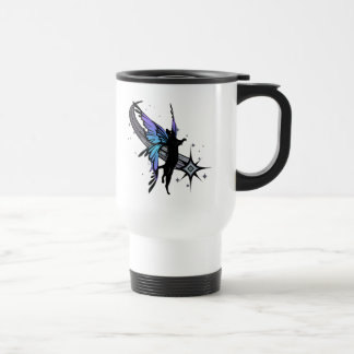 Cosmic Cat Star Travel Mug