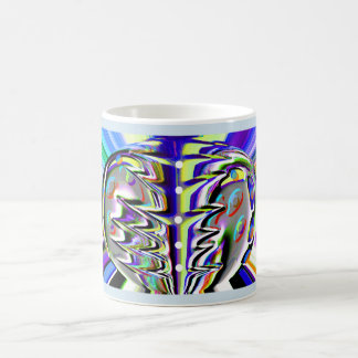 Cosmic chaos coffee mug