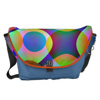 Cosmic Circles Commuter Bag