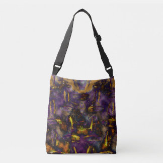Cosmic Collisions Crossbody Bag