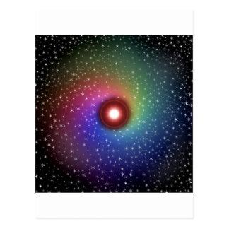 Cosmic Colors Postcard