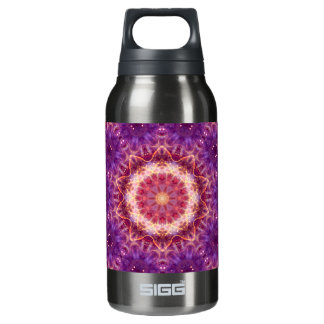 Cosmic Convergence Mandala Insulated Water Bottle