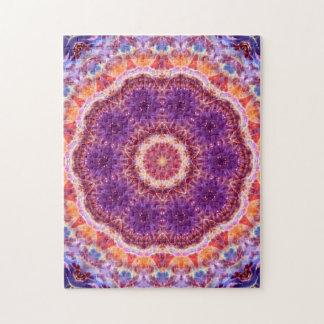 Cosmic Convergence Mandala Jigsaw Puzzle