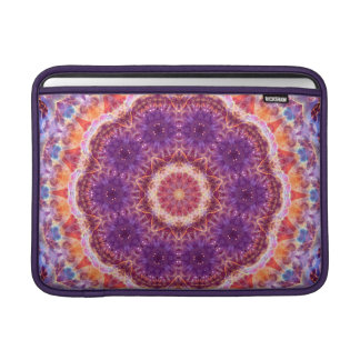 Cosmic Convergence Mandala MacBook Air Sleeves