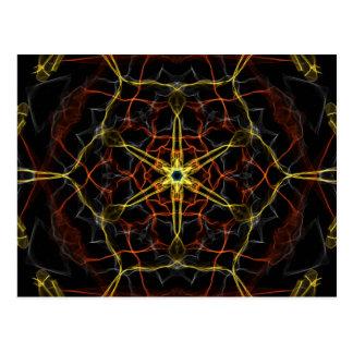 Cosmic Core Kaleidoscope Postcard