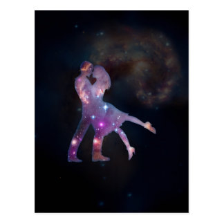 Cosmic Couple Postcard