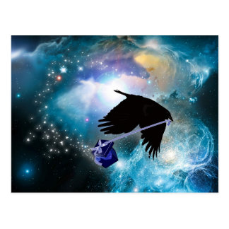 COSMIC CROW POSTCARD