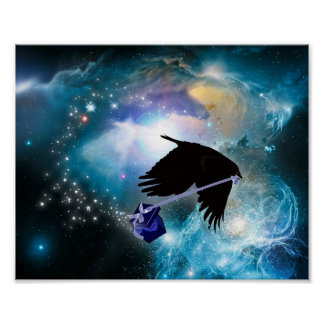 COSMIC CROW POSTER