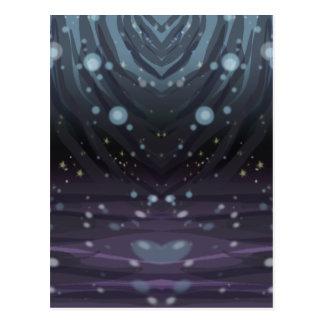 Cosmic Curtains Postcard