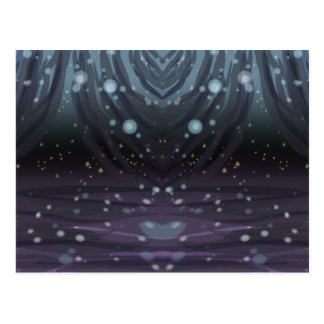 Cosmic Curtains Postcard