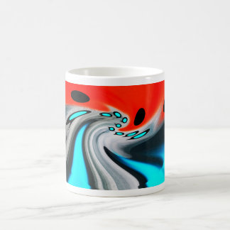 Cosmic distortion coffee mug