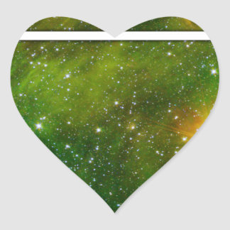 Cosmic Drd Heart Stickers