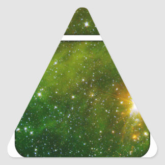 Cosmic Drd Triangle Sticker