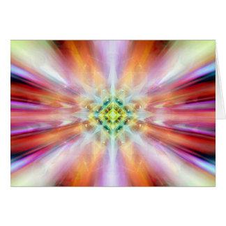 cosmic ethereal kaliedoscope of watching card