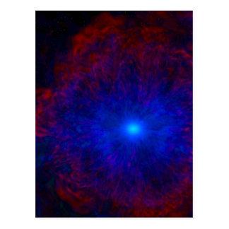 Cosmic Explosion Postcard