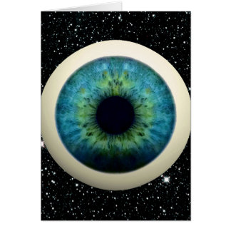 COSMIC EYE (A great novelty item!) ~ Greeting Card