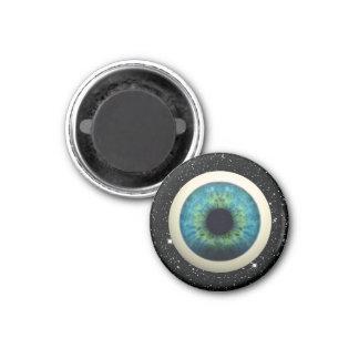 COSMIC EYE (A great novelty item!) ~ 3 Cm Round Magnet