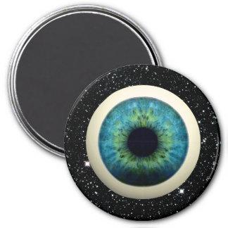 COSMIC EYE (A great novelty item!) ~ 7.5 Cm Round Magnet