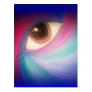 Cosmic Eye Design Postcard