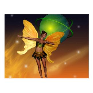 Cosmic Fairy Postcard
