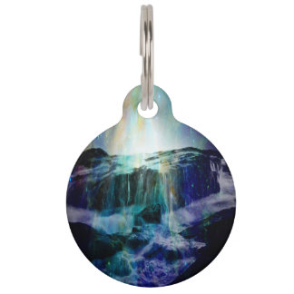 Cosmic Falls Pet ID Tag