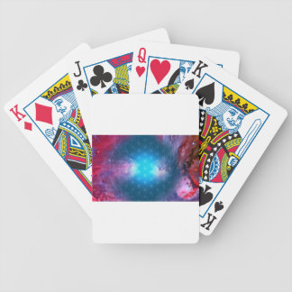 Cosmic Flower of Life Bicycle Playing Cards