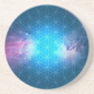 Cosmic Flower of Life Coaster