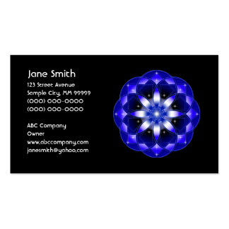 Cosmic Flower Pack Of Standard Business Cards