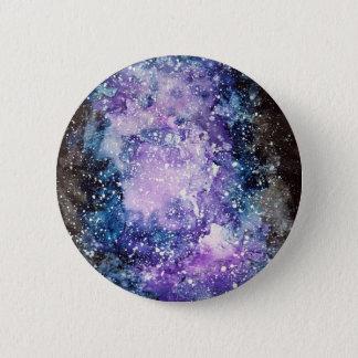 Cosmic galaxy 6 cm round badge