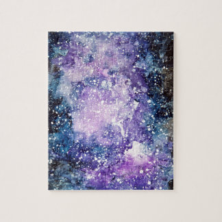 Cosmic galaxy jigsaw puzzle