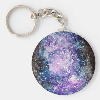 Cosmic galaxy key ring