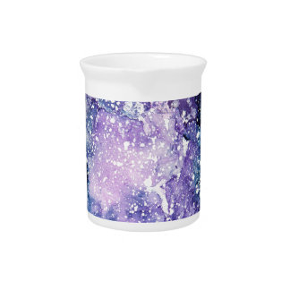 Cosmic galaxy pitcher