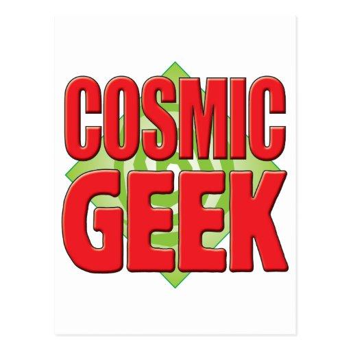 Cosmic Geek v2 Post Card