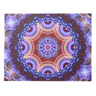 Cosmic Geometry Mandala Notepads