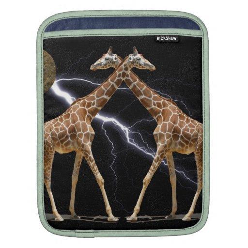 COSMIC GIRAFFES 2 SLEEVES FOR iPads