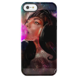 Cosmic Girl iphone marries Clear iPhone SE/5/5s Case