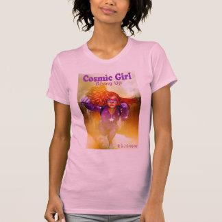 Cosmic Girl: Rising Up ladies pink t-shirt