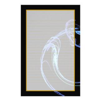 Cosmic Glass II Fine Lined Stationery