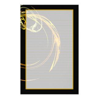 Cosmic Glass III Fine Lined Stationery