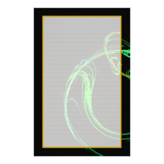 Cosmic Glass IV Fine Lined Stationery