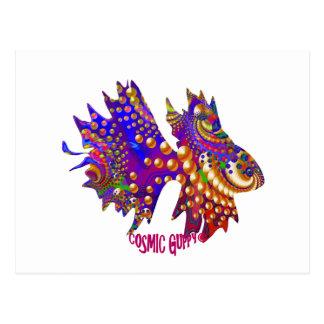 Cosmic Guppy Postcard